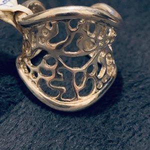 New woman beautiful ring